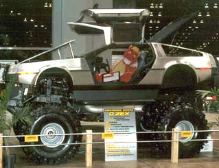 1981 DeLorean on 1979 Chevy Blazer Frame